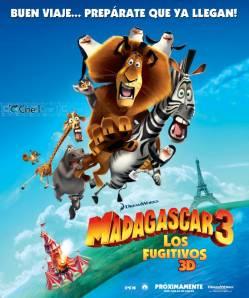 мультфильм Мадагаскар 3 скачать